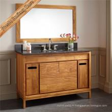 Fed-6047A Cabinet de toilette pour salle de bain simple