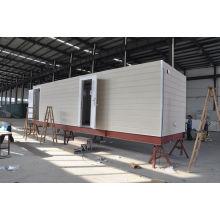 Casas modulares prefabricadas del marco de acero para la casa del guardia