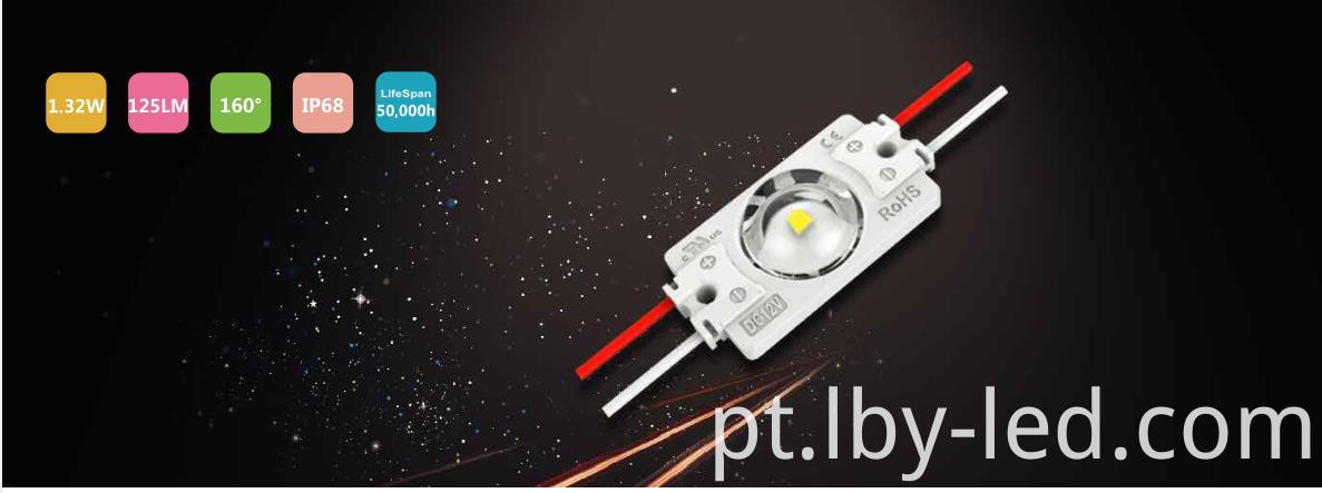 Pure white LED module