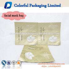 Top-Verkauf matte fertige Kunststoff individuell bedruckte Aluminiumfolie Beutel Tasche für Gesichtsmaske