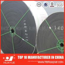 Banda transportadora de nylon de alta resistencia antiestática