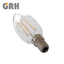 A60 C35 glass plastic 2W 4W 8W 9W Flame Candle LED filament bulb
