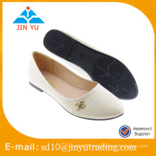 nice style heel shoes lady with cheap price