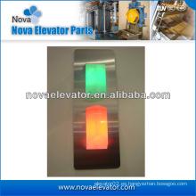 Indicador de posición del elevador, Indicador del pasillo del elevador, Indicador del elevador