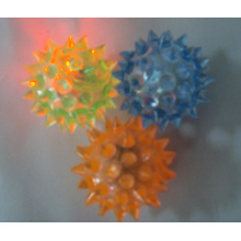 Light-up Flashing Spiky Balls 1.5 inches