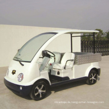 Marshell CE genehmigt Yachtausrüster Elektrofahrzeug mit kurzen Cargo-Box (DU-N4)
