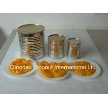 820g / 460g Mezclas de Melocotones Amarillos en L / S