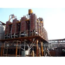 Conducto espiral de fibra de vidrio 5ll-1500 para el procesamiento de lavado de carbón