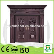 Sun prova boa qualidade villa cobre porta com pintura a óleo