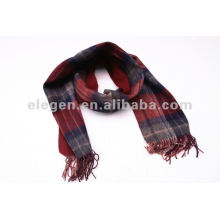 SD02-052 BLUE&RED CHECKED SCARF