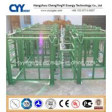 Hochdruck-Sauerstoff-Stickstoff-Gas-Zylinder-Rack
