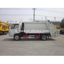 Camión de basura del compresor de Dongfeng Furuika / compacto Camión de basura / camión del compresor / camión de basura / camión de basura del brazo basculante