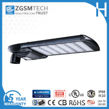 200W LED Shoe Box Light for Parking Lot Area lighting with cUL UL Dlc CSA Certificated