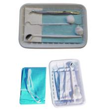 Kit descartável de instrumentos médicos odontológicos