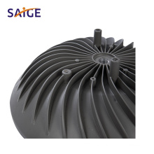 Aluminium Alloy A360 A380 ADC12 Die Casting for The Parts of Streetlamp Radiator