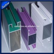 powder coating aluminum extrusion profile from china