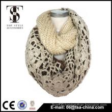Custom Design Logo Jacquard Promotion knit Acrylic scarf