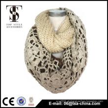 Custom Design Logo Jacquard Promoção malha Acrílico lenço