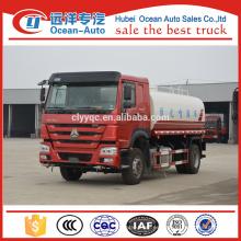 China Howo 15 CBM agua Sprinkle vehículo