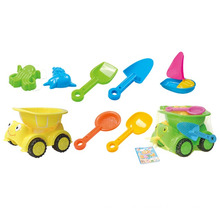 Juguete plástico de la playa de la arena del juguete del verano 8PCS para los niños (10214338)