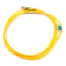 Duplex Singlemode LC Para ST Fibra Óptica Patch Cord, cabo de jumper óptico com 2.0MM / 3.0MM