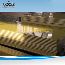 Folha de fibra de vidro epóxi de isolamento do transformador