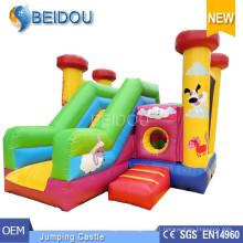 Inflável Bouncy Castelo Frozen Jumping Castelo Inflável Bouncer Jumper