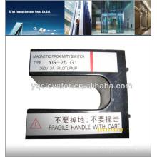 Aufzugsnäherungsschalter YG-25, Aufzugssicherheitsschalter, omron Näherungsschalter