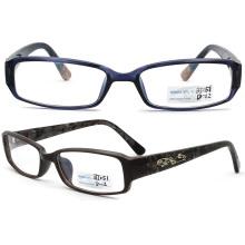 2015 Latest Styles Eyeglasses Plastic Optical Glasses (BJ12-051)