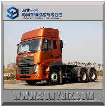 430HP Dongfeng Volvo Ud 6X4 Tractor Trailer Truck