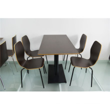 Fastfood Restaurant Table Set Commercial Furniture (FOH-CXSC69)