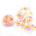 Brillo de confeti, brillo de color mixto para cara