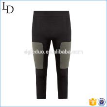 Medias de compresión de rendimiento recortadas Pantalones de running de fitness personalizados