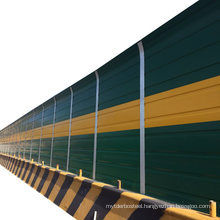 Outdoor aborsbing road railway noise reduction barrier sheet ceramic