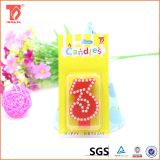 Wholesale new birthday number candle