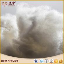 Suministro de stock de fábrica dehaired fibra de cachemir de color marrón blanco de Mongolia Interior