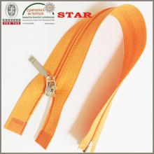 (# 3) Cremallera de extremo abierto con extractor de nylon