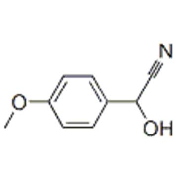 (4-methoxyphenyl)glycolonitrile CAS 33646-40-1