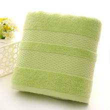 Las mejores toallas de baño Toallas de lima teñidas de color verde claro