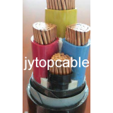 Low Voltage Electrical Cable LV Armoured Cable 0.6/1kv PVC Insulated Steel Tape Armored Electric Cable Low Voltage Cu/PVC/Sta/PVC Cable