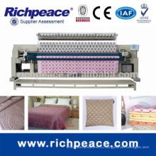 Компьютеризированная стеганая машина для вышивания и вышивки с автоматическим триммером нити