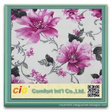 Printed 100% Polyester soft velvet Fabric polyester sofa fabrics