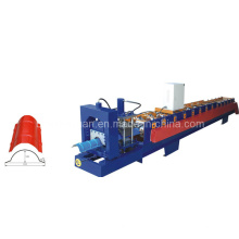 High Quality Colored Steel Roof Ridge Forming Machine