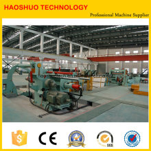 Máquina de corte longitudinal de bobina de acero de alta velocidad