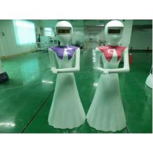 Dedi Robotik Roboter Kellner liefern Lebensmittel Roboter-Themed Restaurant Automatisierte geführte Fahrzeug