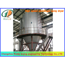 Yeast hydrolyzate spray dryer