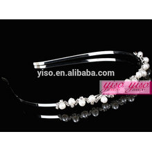 best sale custom crystal and pearl fashion hair jewelry