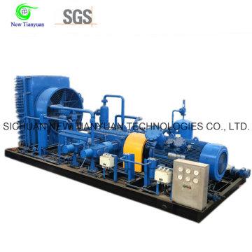 Compresseur de gaz naturel à pression de travail de 3,0 à 25 MPa pour l'utilisation de la station de GNC