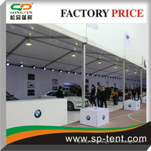 car show tent 20m x30m with flame retardant fabric
