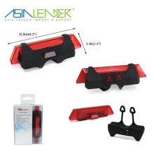 High Brightness USB Rechargeable COB Rear Bike Light